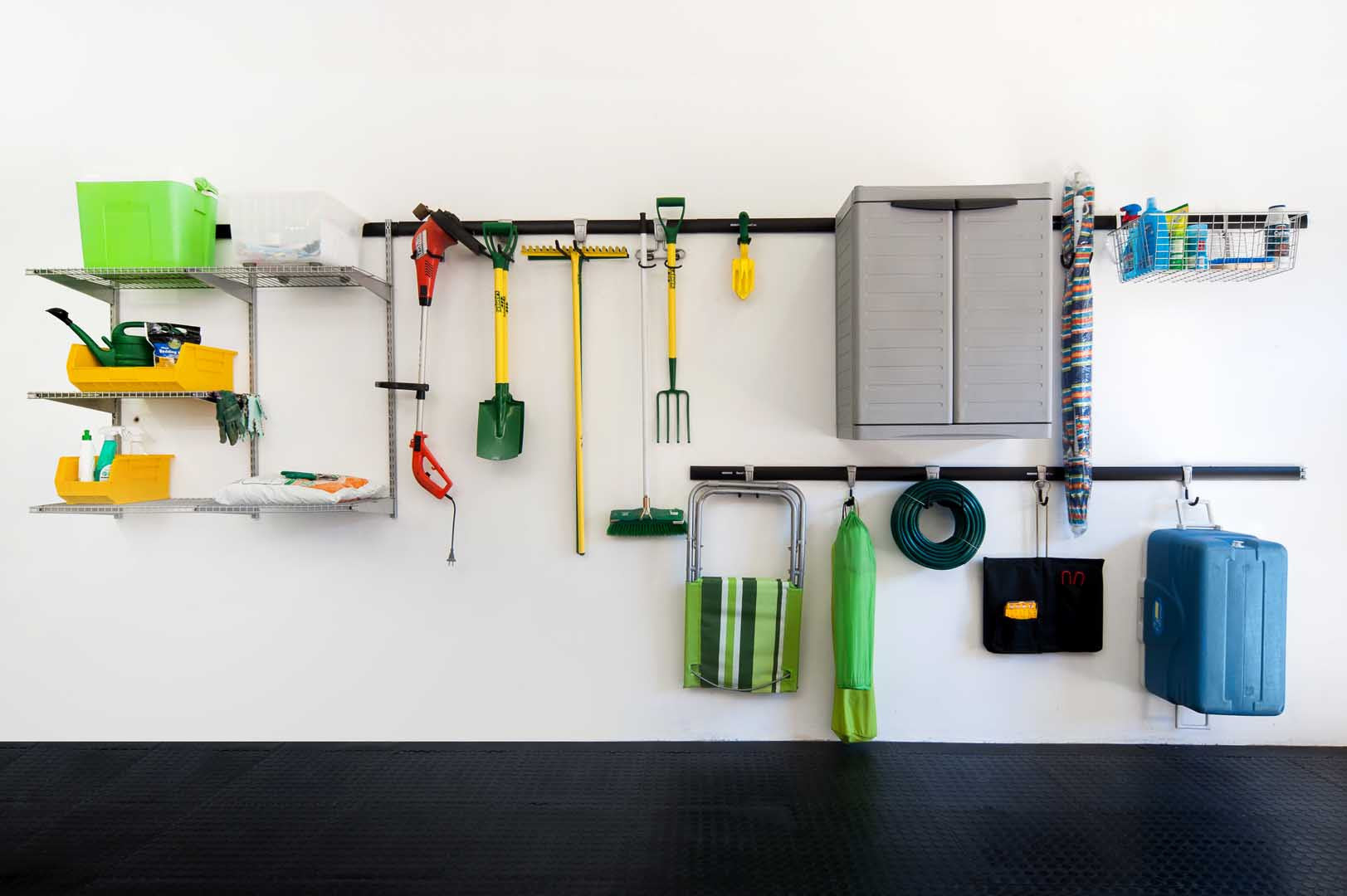 Shelving, Hooks, Accessories
