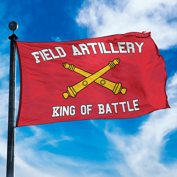 Artillery King of Battle Flag