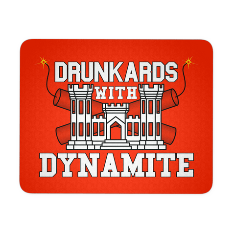 Drunkards With Dynamite Mouse Pad