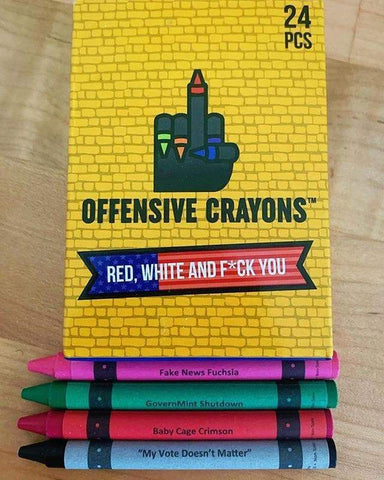 Offensive Crayons - Political