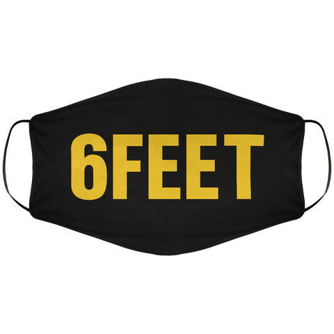 6 Feet Face Cover
