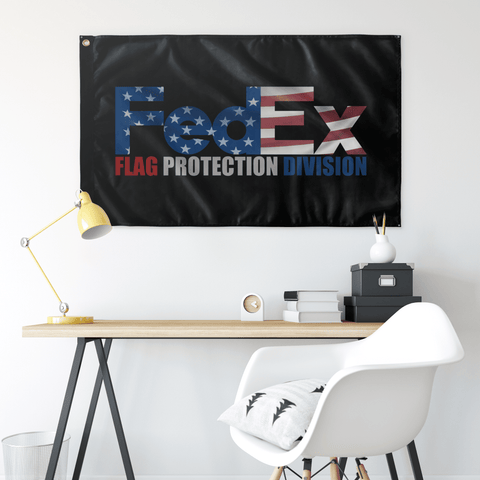 FEDEX Flag Protection Division Flag