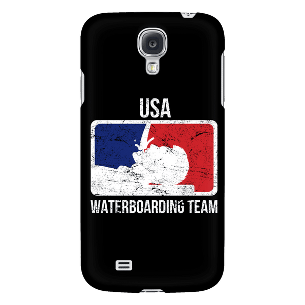 USA Waterboarding Team Phone Case BLACK
