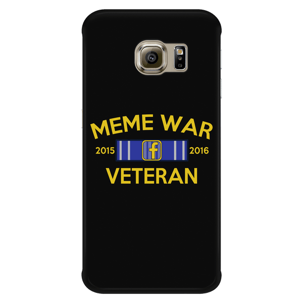 Meme War Veteran Phone Case BLACK