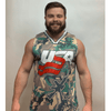 Camo 2nd Amendment Basketball Jersey - Greater Half