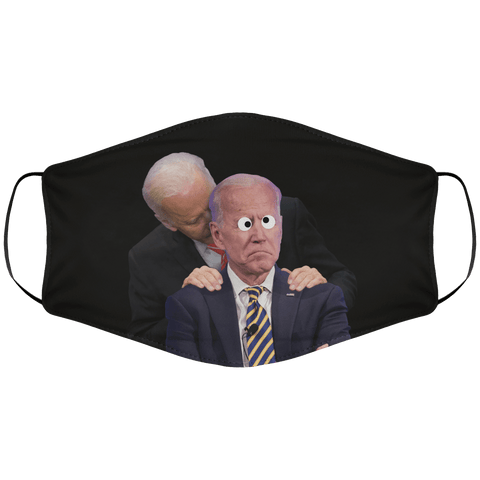 Creepy Uncle Joe Sniffing Crazy Uncle Joe Face Cover