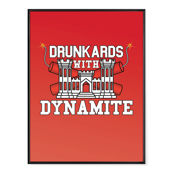 Drunkards With Dynamite Poster