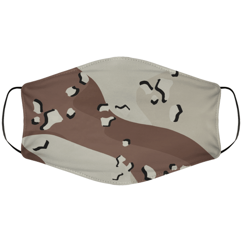 Desert BDU Chocolate Chip Face Cover