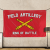 Artillery King of Battle - Wall Flag