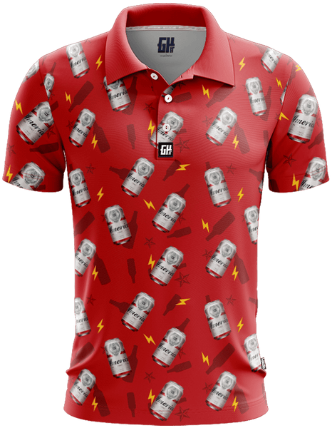 Bud Heavy Golf Polo