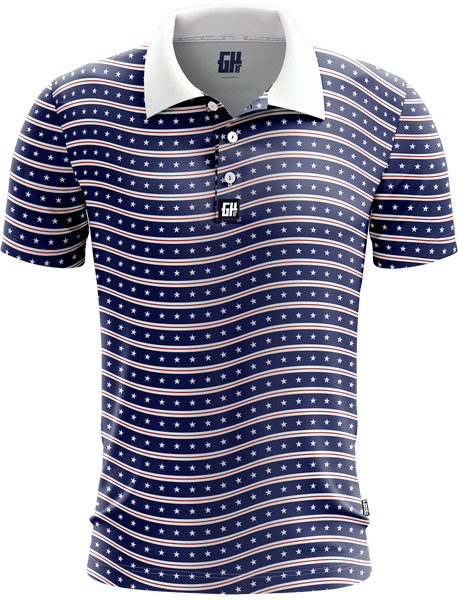 Star Wave Golf Polo