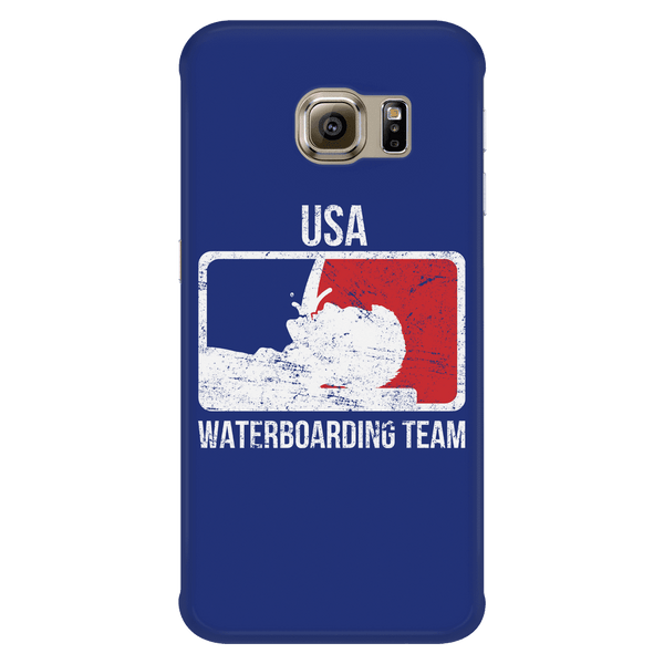 USA Waterboarding Team Phone Case BLUE