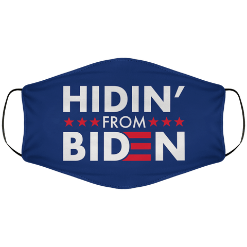 Hidin From Biden Face Cover