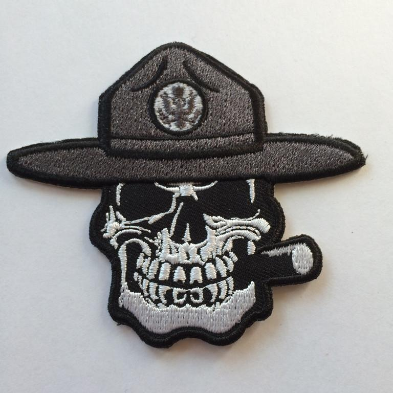 Sew On Patch Front