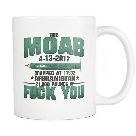 MOAB Commemorative Mug WHITE