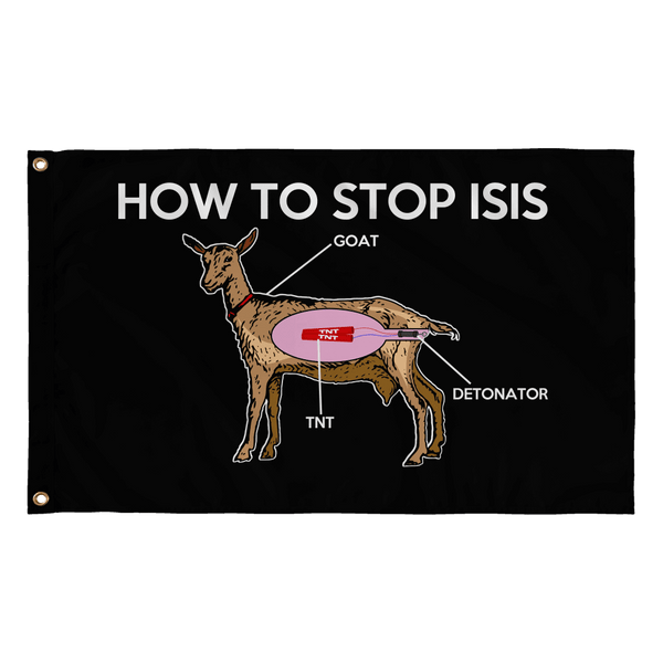 How To Stop ISIS Flag