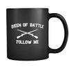 Infantry Queen of Battle Mug BLACK