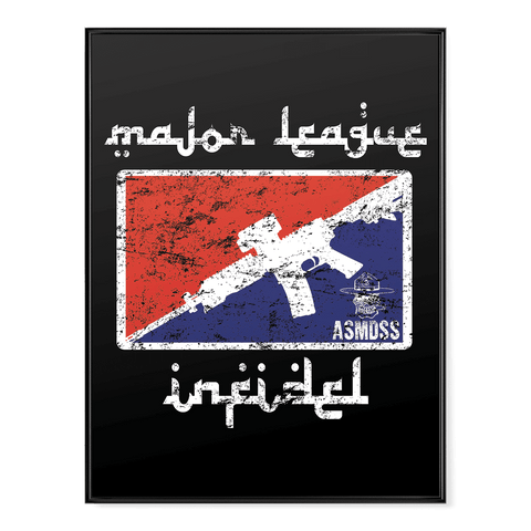 Major League Infidel Poster