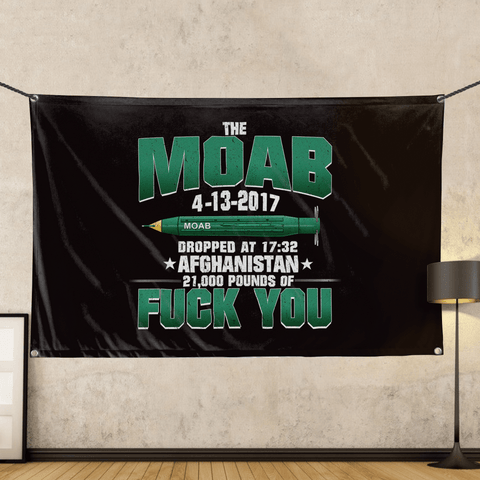 MOAB Commemorative - Wall Flag