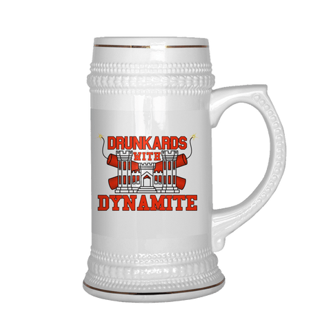 Drunkards With Dynamite Beer Stein