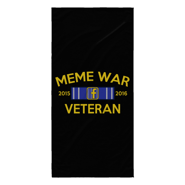 Meme War Veteran Beach Towel