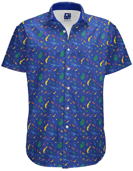 Retro Pew Button Down