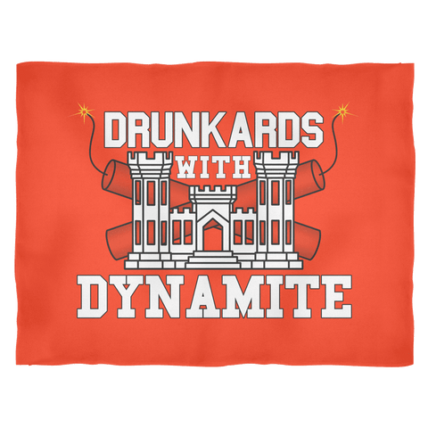 Drunkards With Dynamite Fleece Blanket