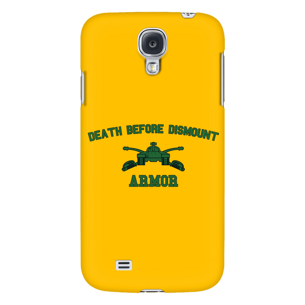 Armor Death Before Dismount Phone Case