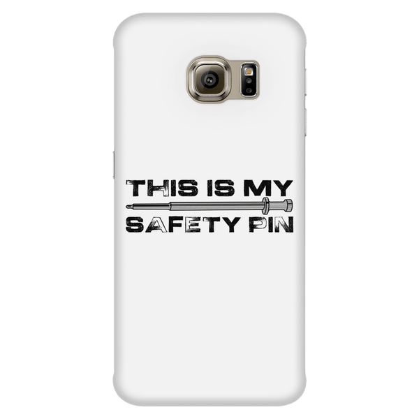 My Safety Pin Phone Case WHITE