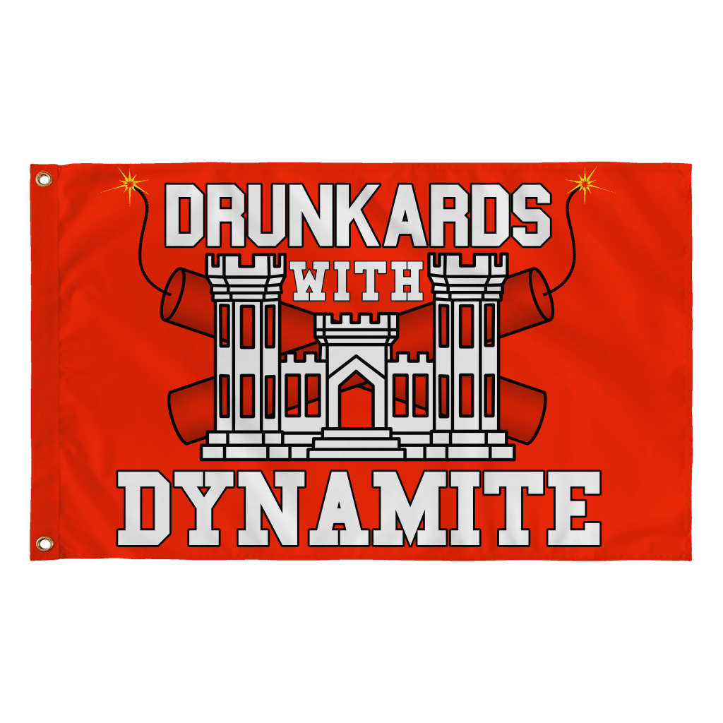 Drunkards With Dynamite Flag