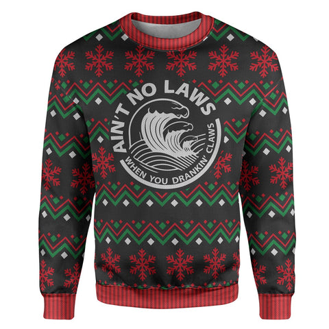 Christmas Claws Sweater