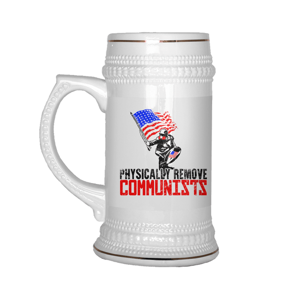 Based Stick Man Beer Stein