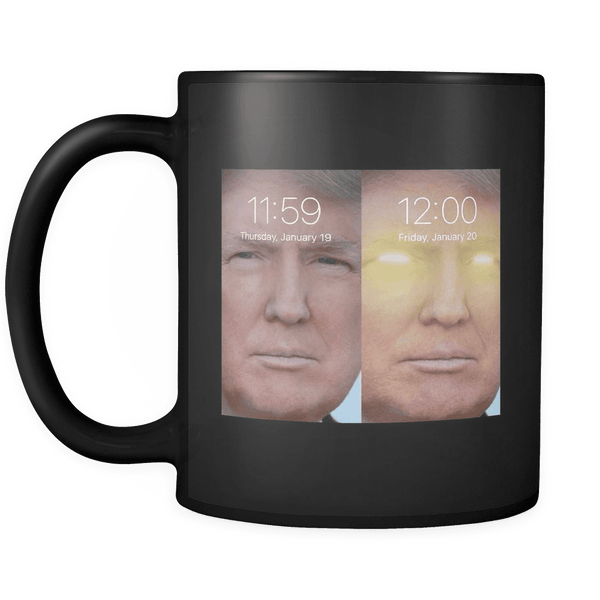 God Emperor Trump Mug BLACK
