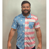 Faded Old Glory Button Down - Greater Half
