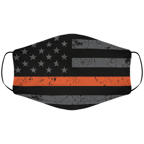 Orangeline Flag Face Cover