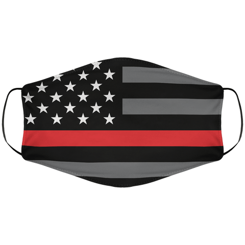 Redline Flag Face Cover