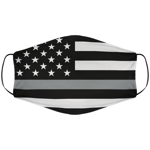 Silverline Flag Face Cover