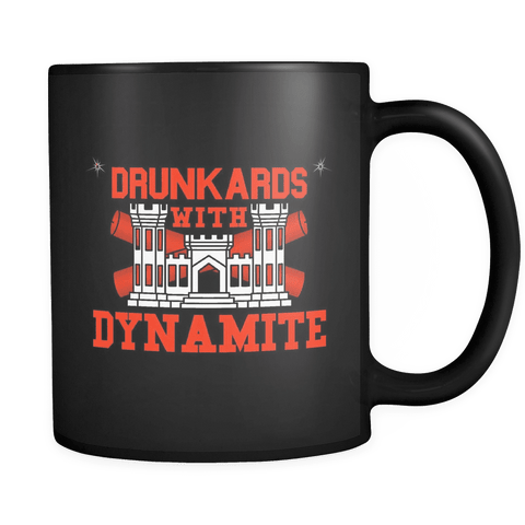 Drunkards With Dynamite Mug BLACK