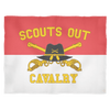 Cavalry Scouts Out Fleece Blanket
