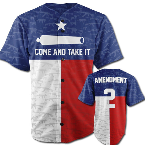 Come and Take It Jersey Texas Edition