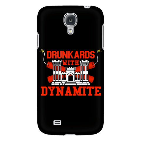 Drunkards With Dynamite Phone Case BLACK
