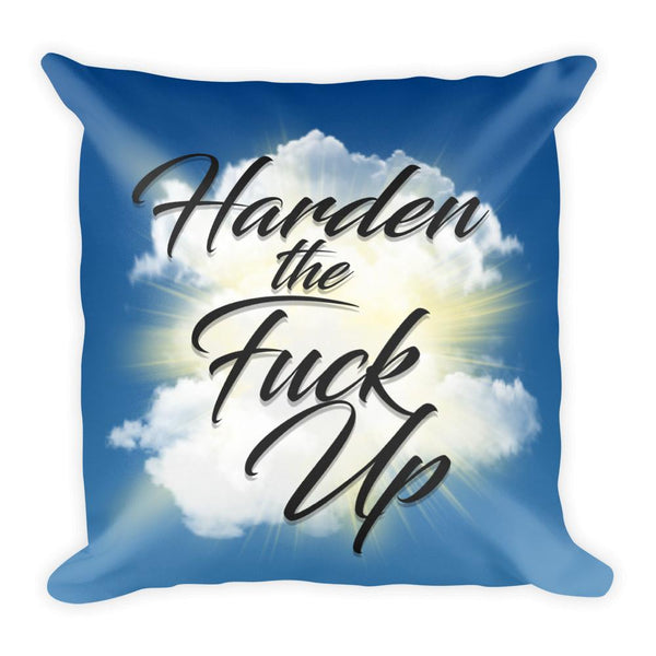 HTFU Square Throw Pillow