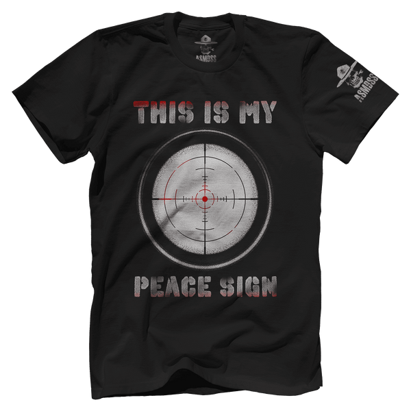 This Is My Peace Sign Asmdss Gear