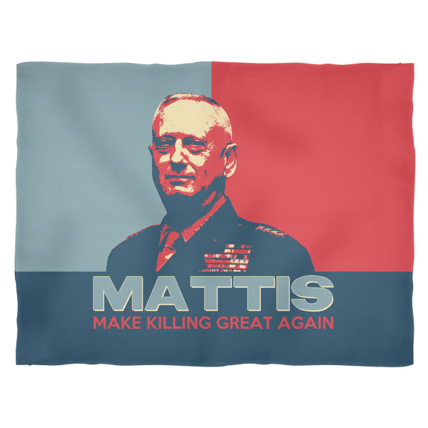 Make Killing Great Again Fleece Blanket