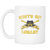 Cavalry Scouts Out Mug