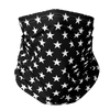 Stars Black Face Gaiter
