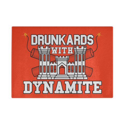 Drunkards With Dynamite Cutting Board