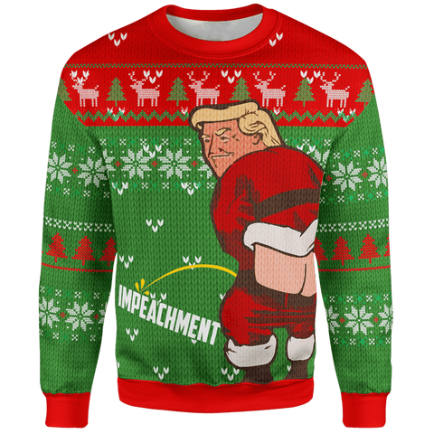 "Trump ""let it go"" Christmas Sweater"