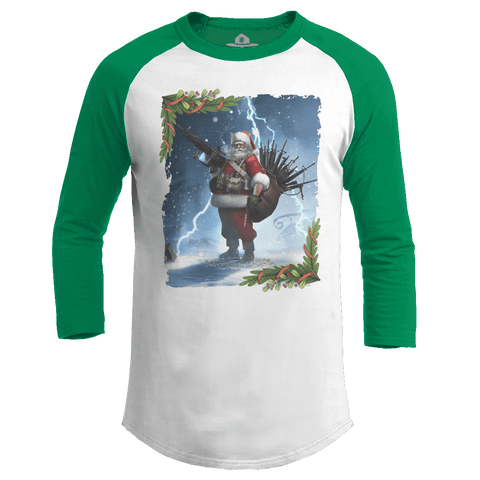Colonel Claus - Snow Raglan