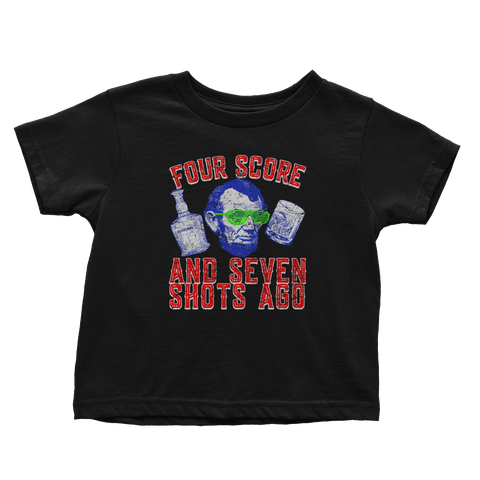 Four Score And Seven Shots Ago (Toddlers)